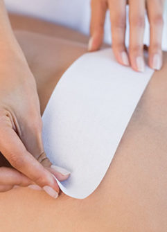 Men's waxing and intimate waxing at Frontlinestyle Bath