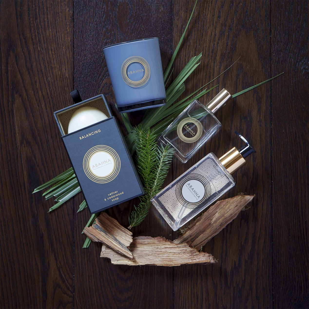 Abahna Vetiver and Cedarwood Soap available at Frontlinestyle Wells perfumery.
