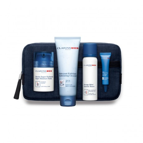 ClarinsMen Face Collection Grooming Essentials at FLS Wells and Bath Beauty salons