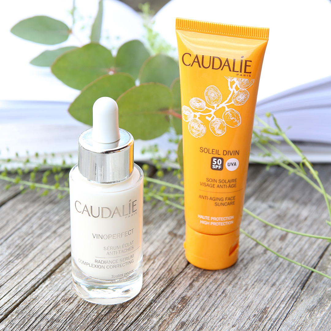 Caudalie Vinoperfect serum and Sun Care at Frontlinestyle Hair and Beauty