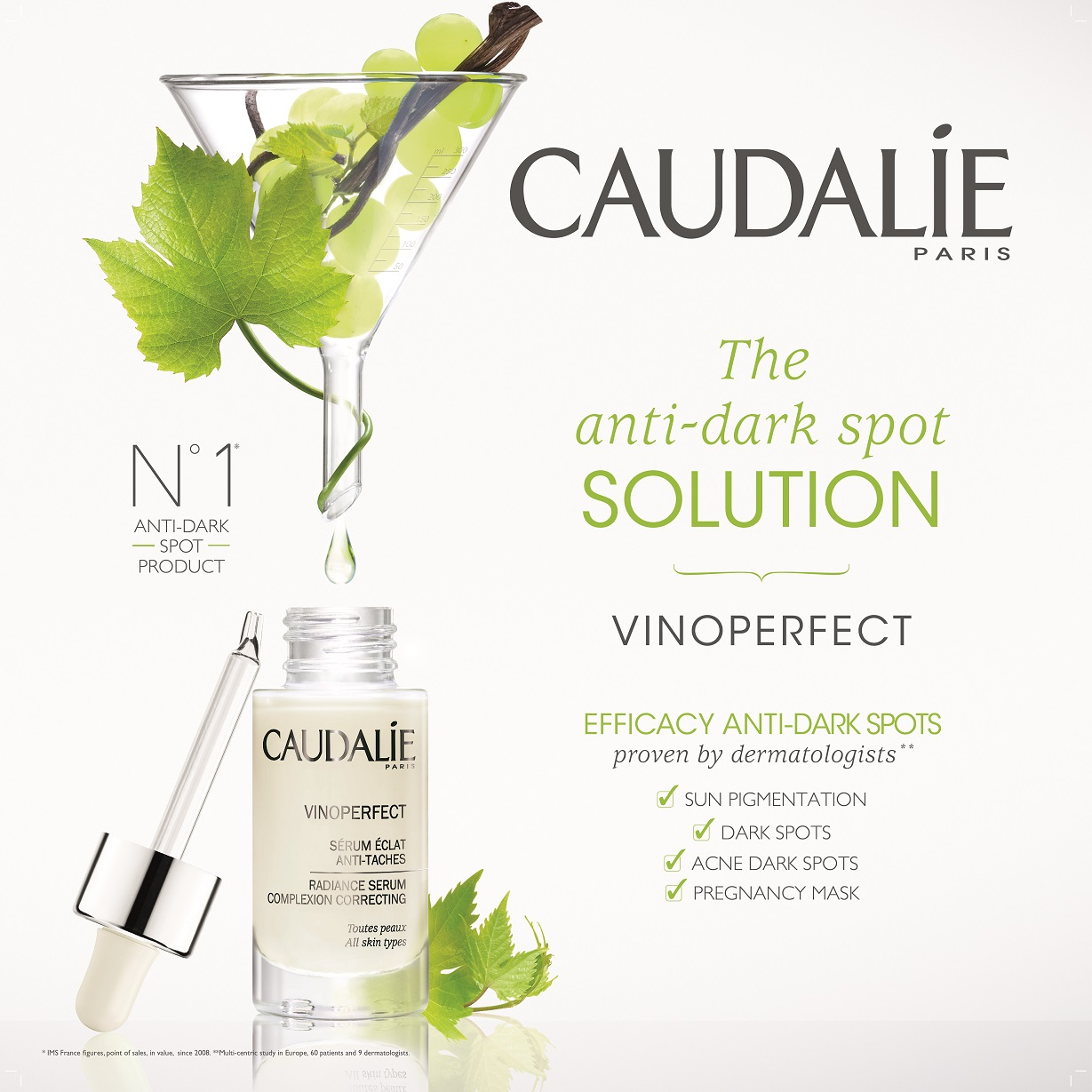 Caudalie Vinoperfect serum at Frontlinestyle Hair and Beauty