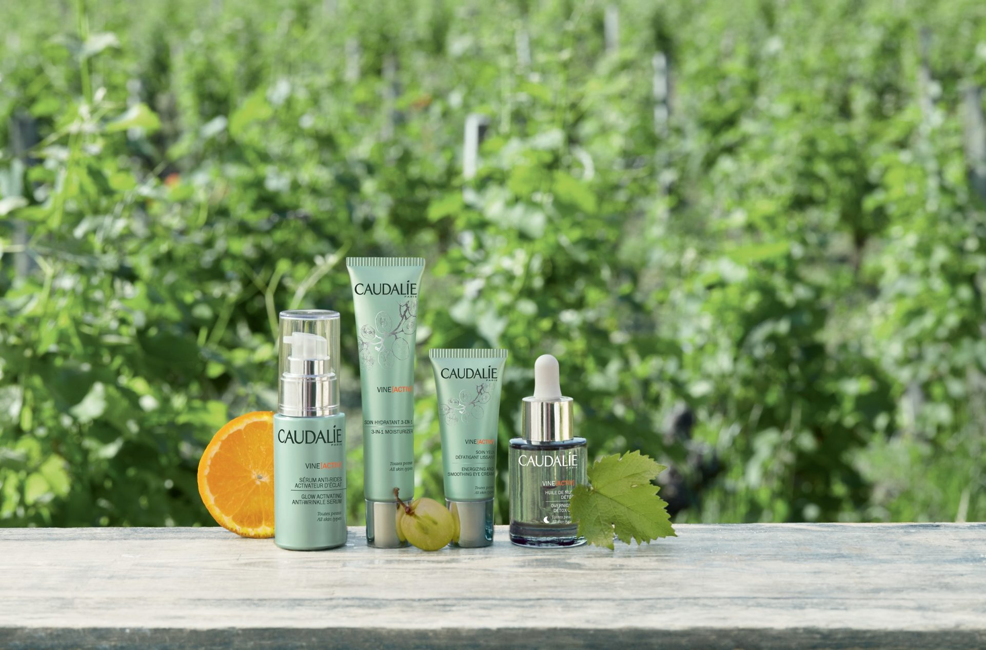 Caudalie Vine Active range at Frontlinestyle Hair and Beauty