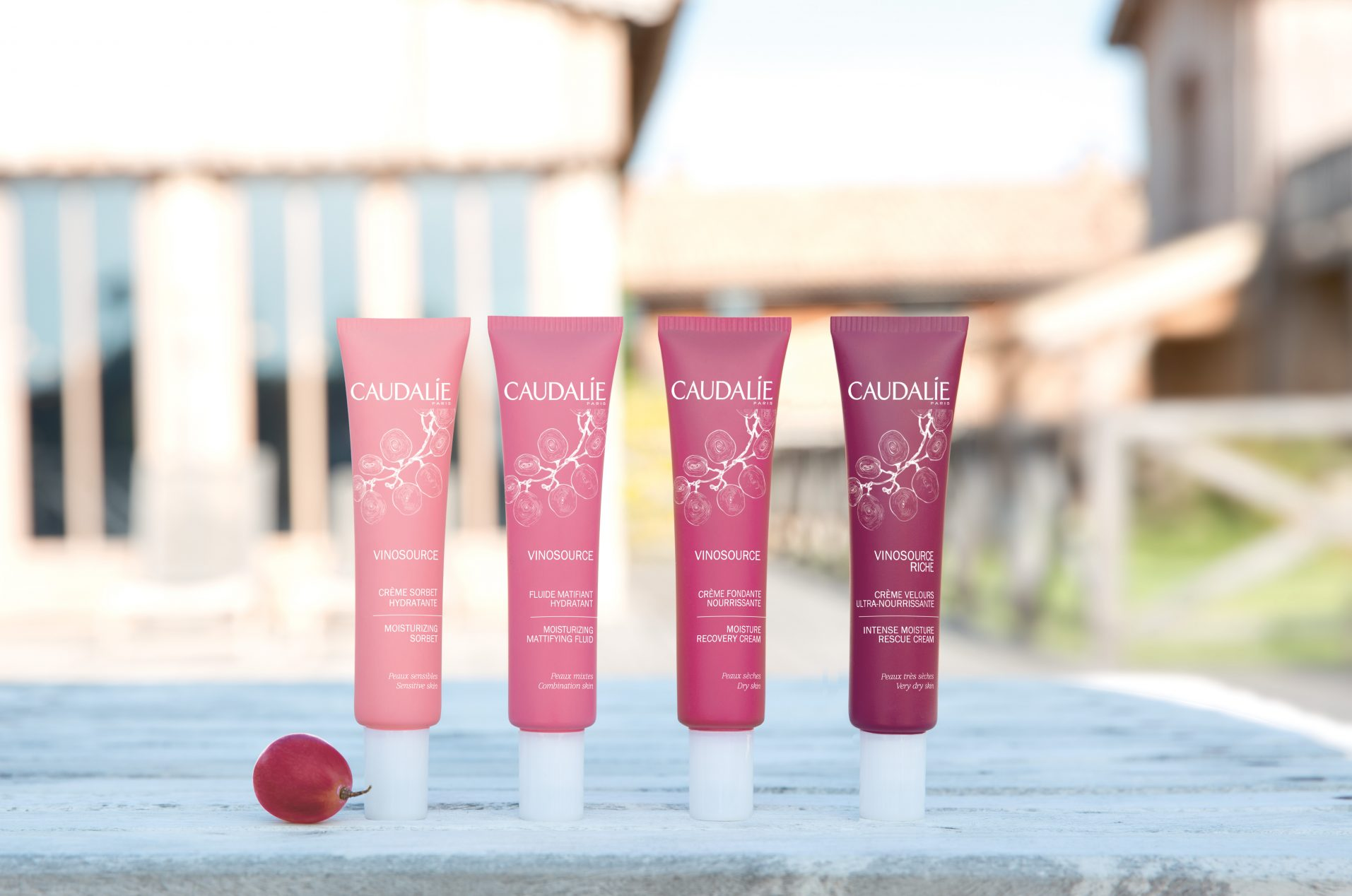 Caudalie Vinosource Range at Frontlinestyle