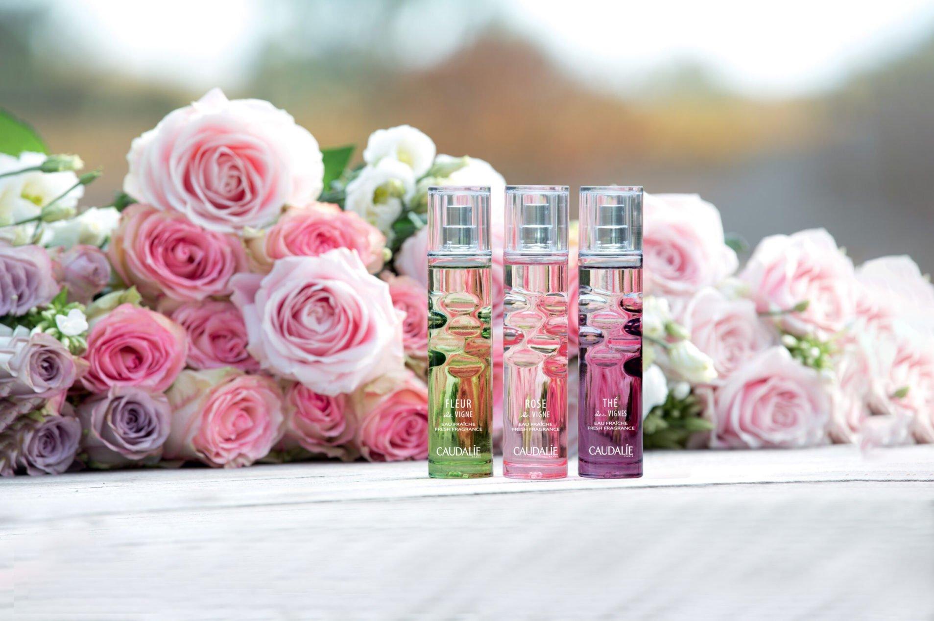 Caudalie 'Fleur de Vigne' Rose Fresh Fragrance at Frontlinestyle