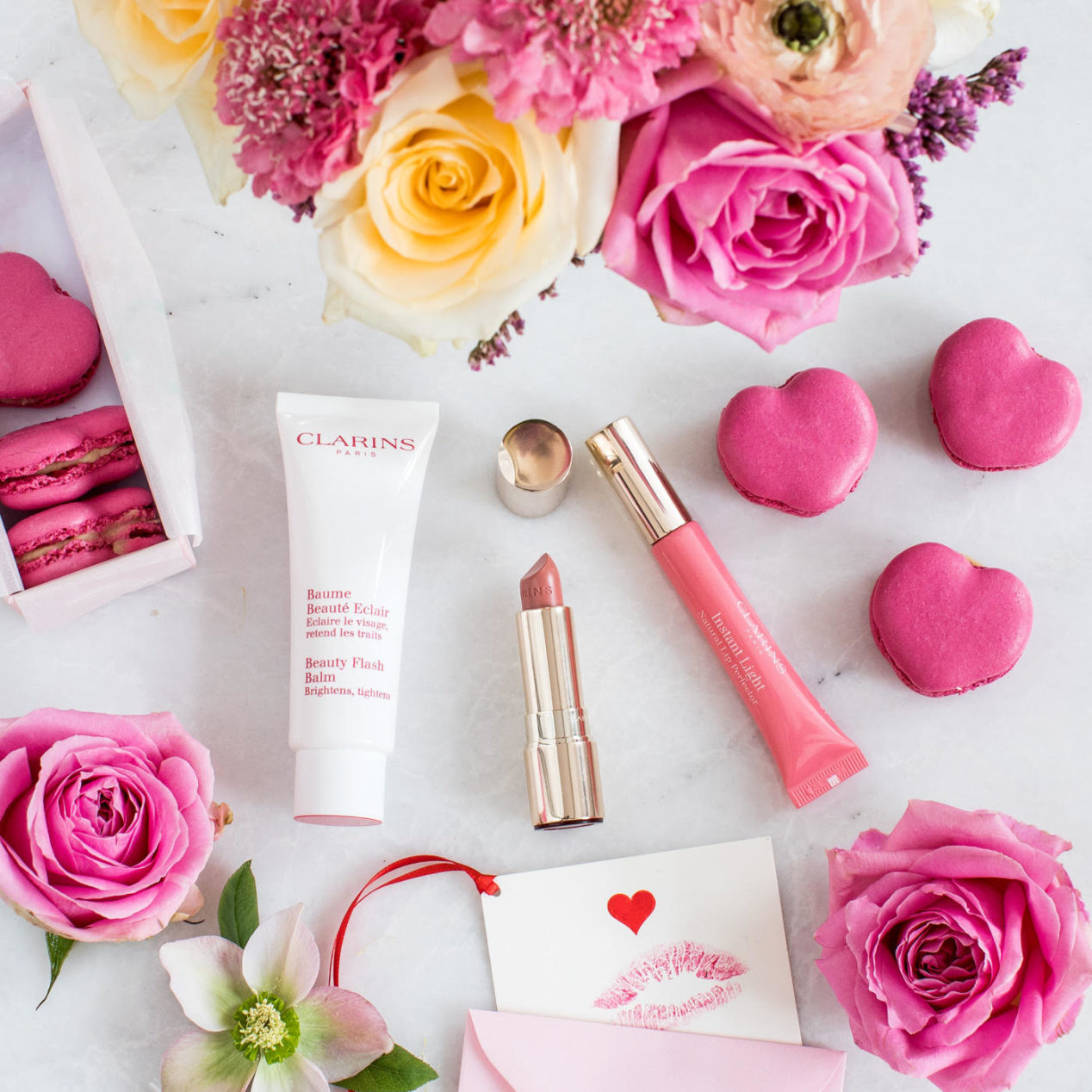Clarins Instant Light and Beauty Flash Balm at Frontlinestyle