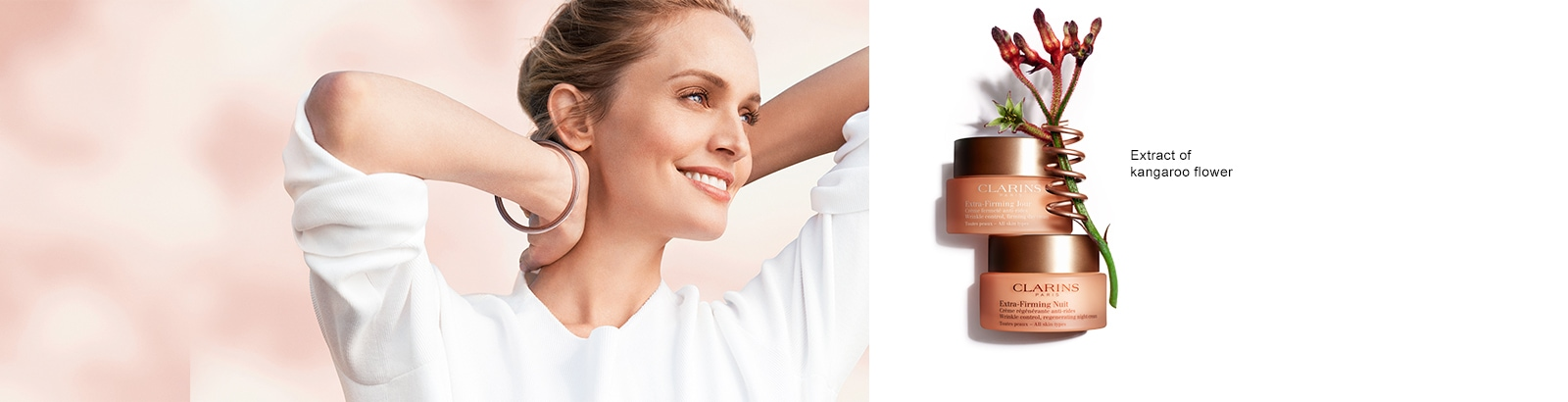 Clarins Extra Firming Facial at Frontlinestyle Bath & Wells
