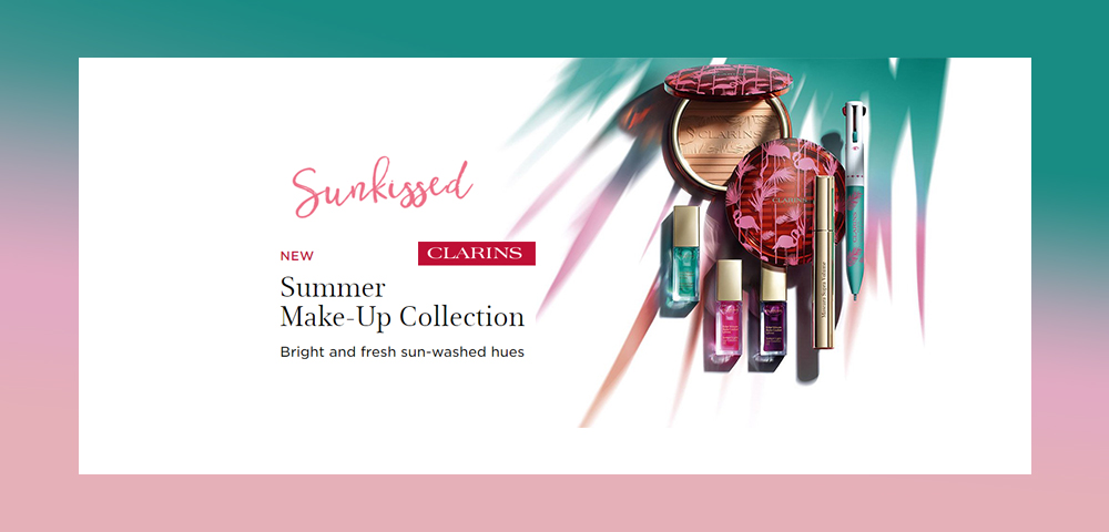 Miami Baby! – NEW Clarins Collection
