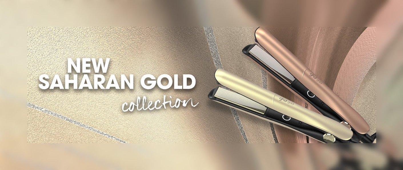 NEW ghd Saharan Gold Collection
