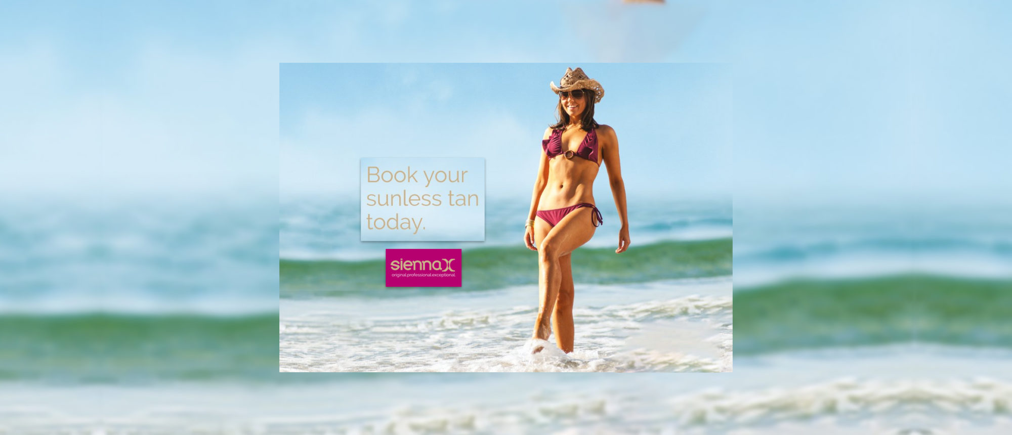 Sienna X Sunless Spray Tan at Frontlinestyle