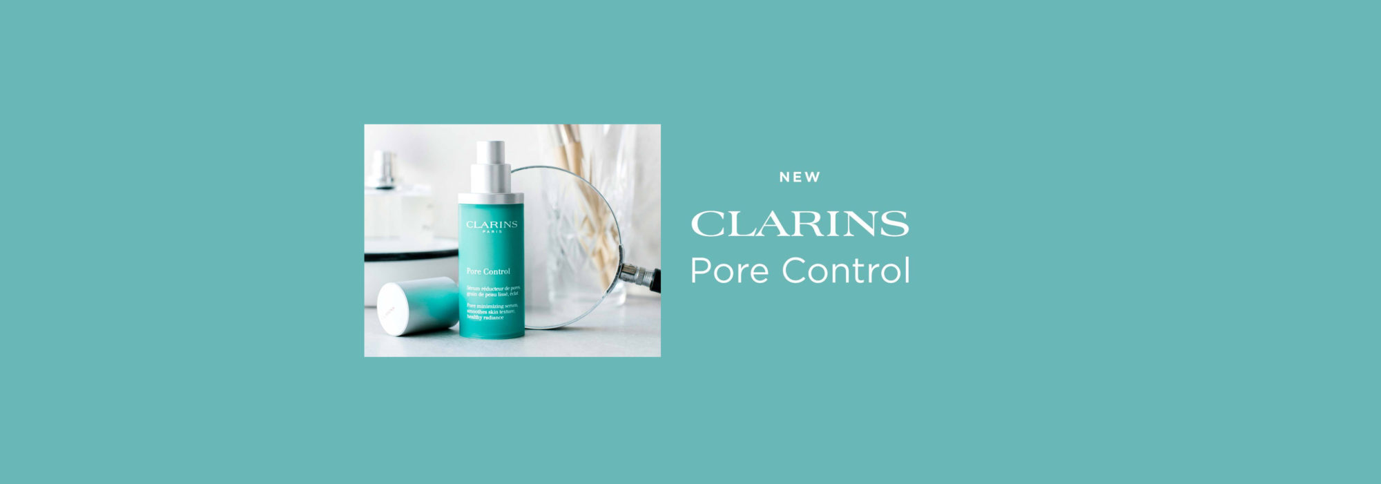NEW Clarins Pore Control at Frontlinestyle