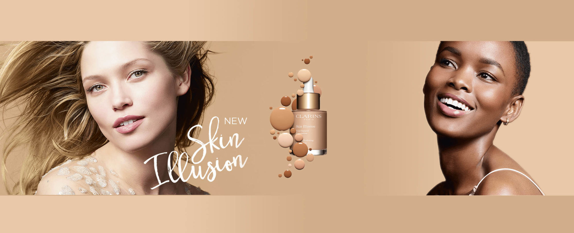 Clarins NEW Skin Illusions Foundation