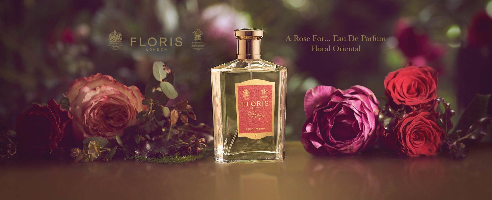 Floris NEW 'A Rose For...' Eau De Parfum