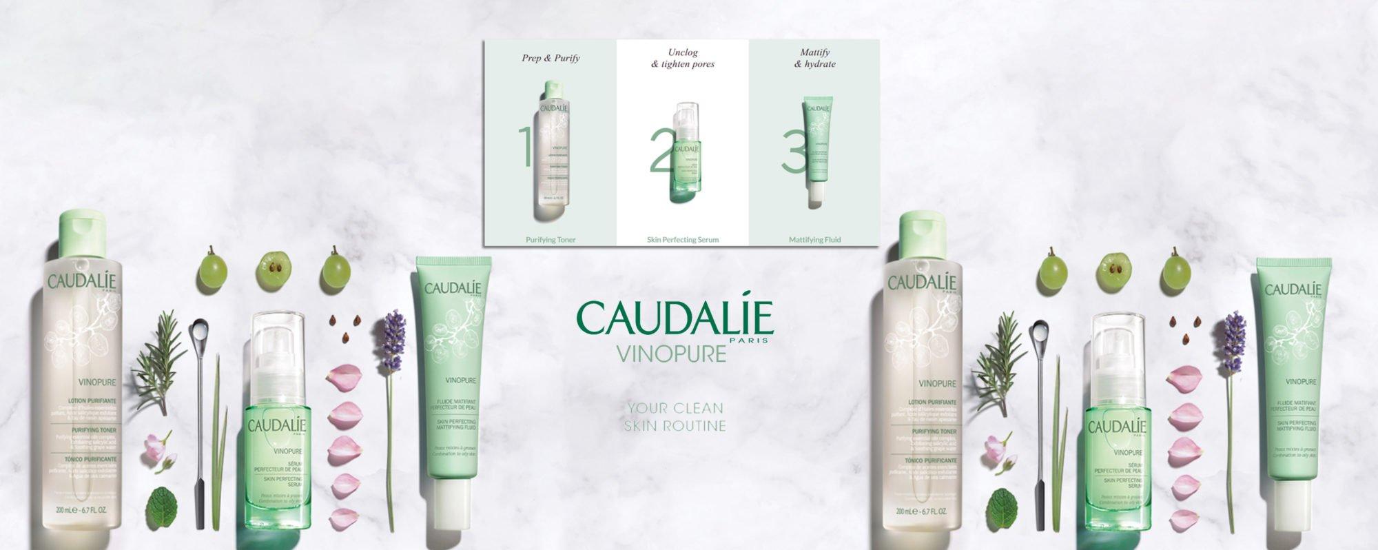 Caudalie Vinopure Launch - Clean Skin Routine