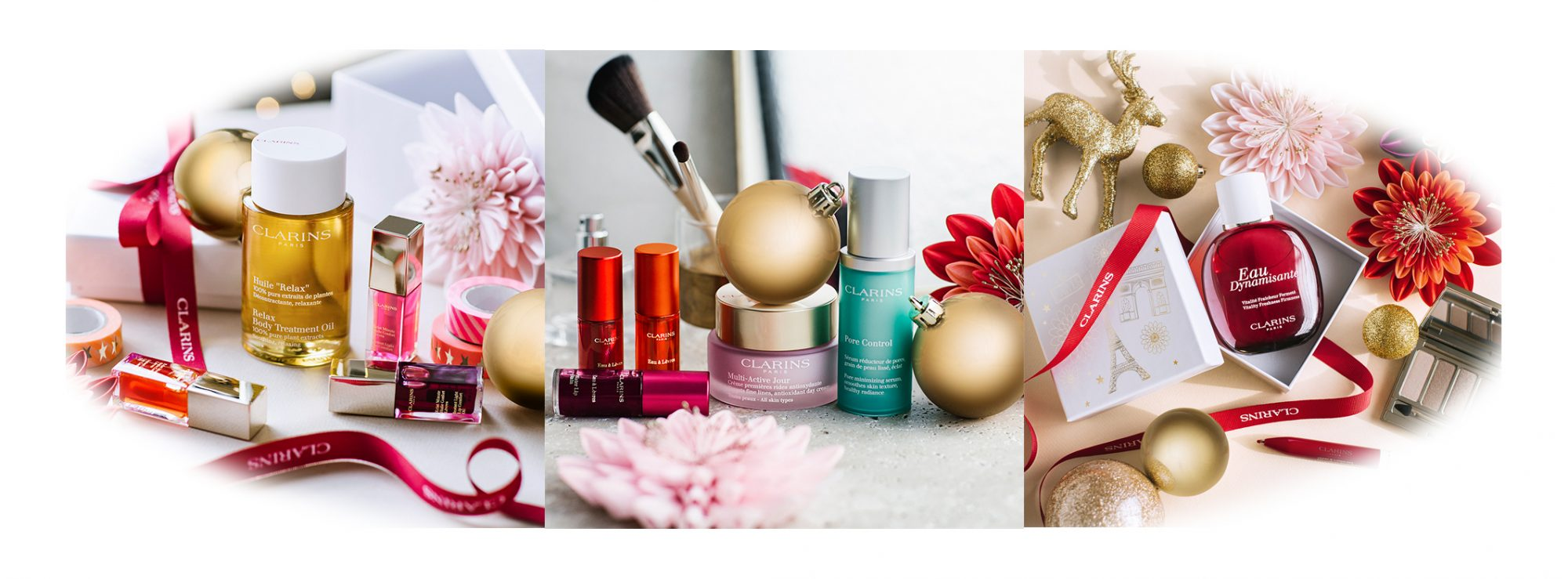 Clarins Christmas Makeup Square Collections Banner Xmas 2018