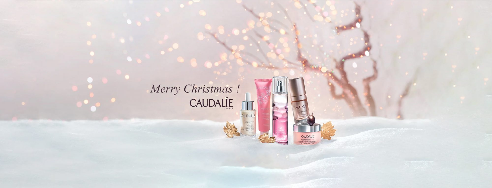 Caudalie Christmas at Frontlinestyle