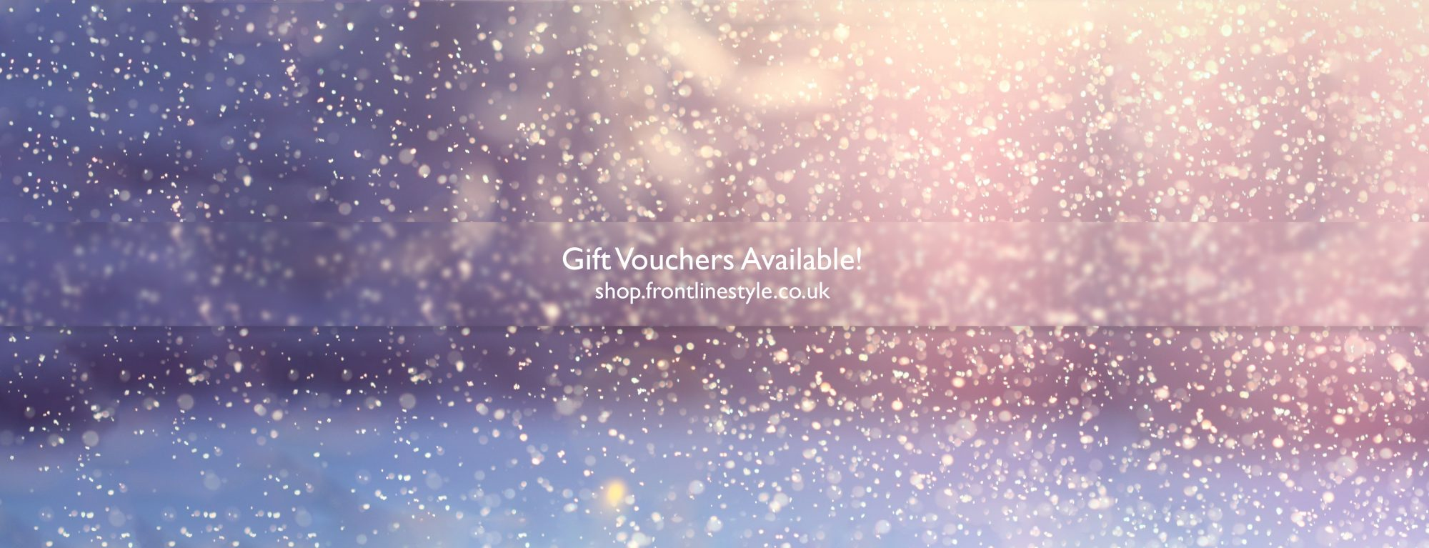 Gift Vouchers Available at Frontlinestyle