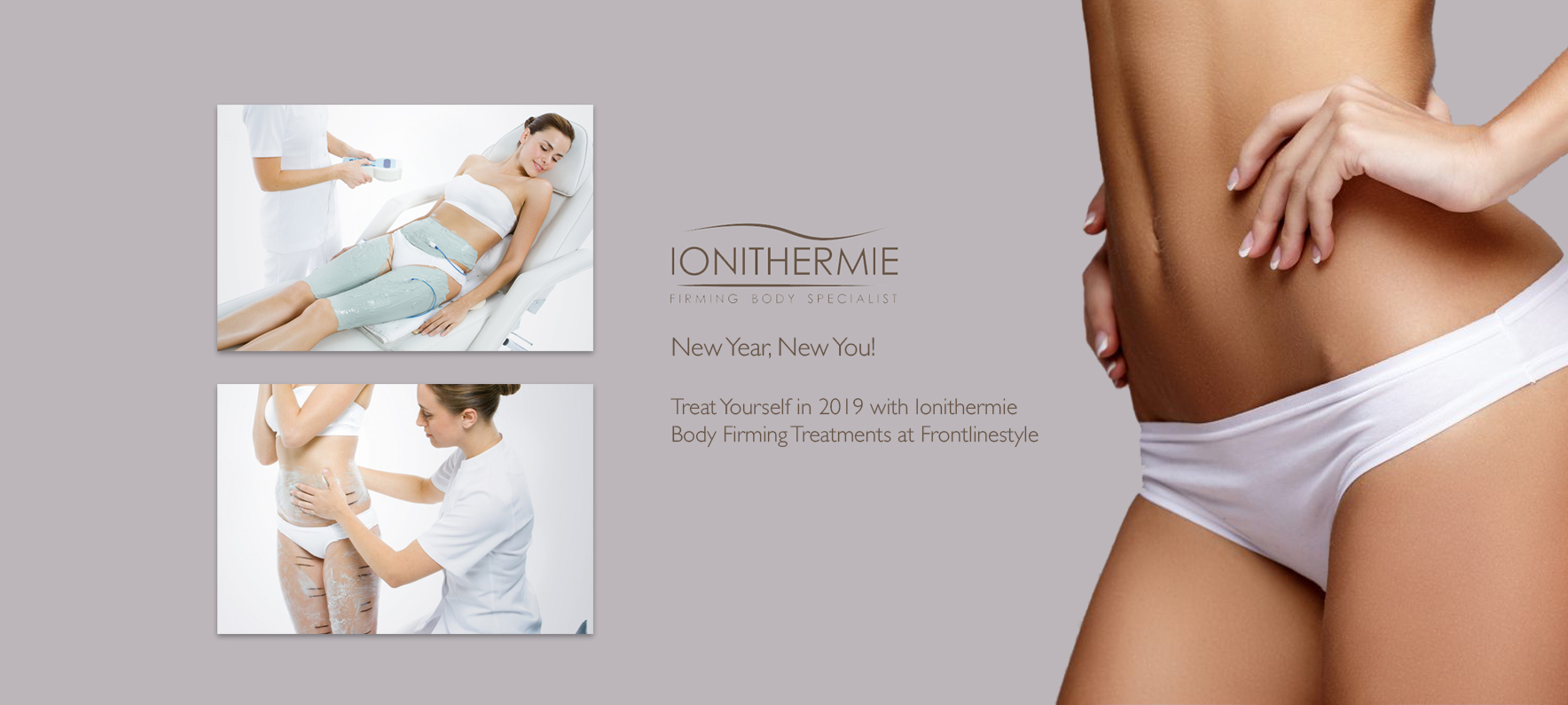 Ionithermie New Year New You Firming Treatment Lilac Banner 2019