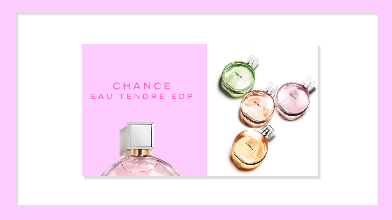 Chanel Chance Eau Tendre at Frontlinestyle