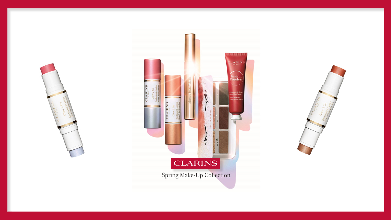 Clarins NEW Spring Makeup Collection
