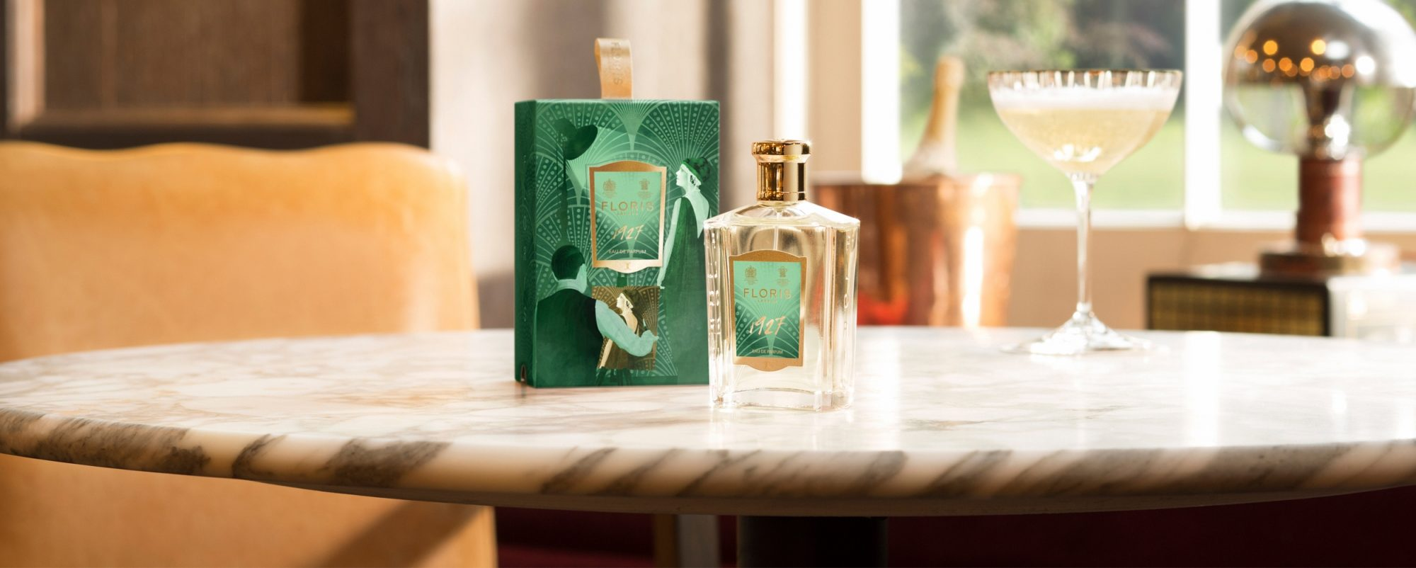Floris London 1927 New Fragrance Green Cocktail Visual Banner 2019