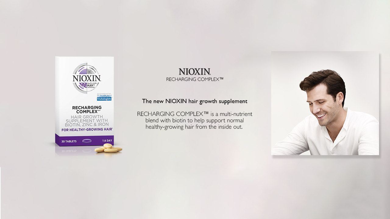 Nioxin Recharging Complex at Frontlinestyle