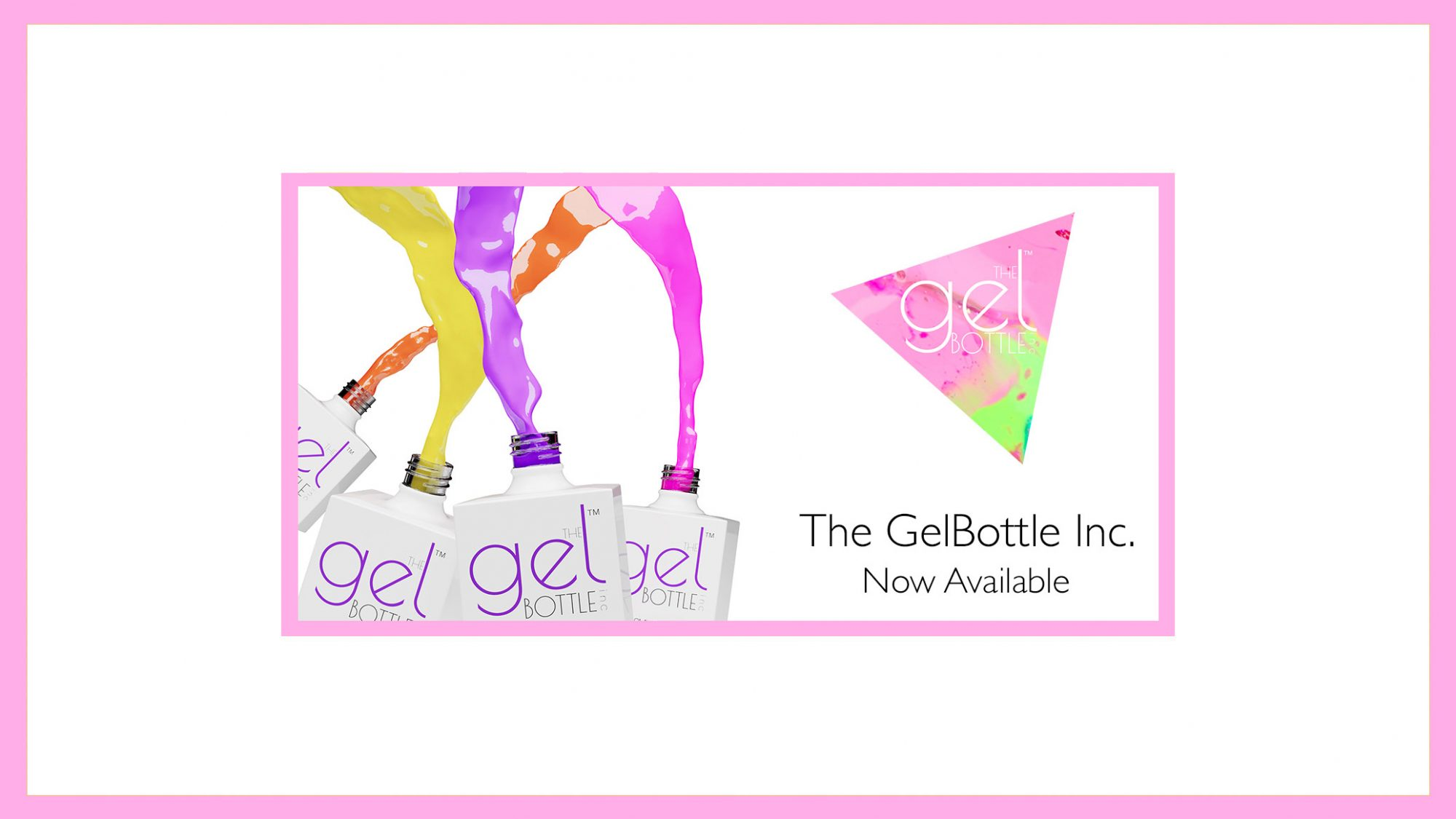 GelBottle Inc. Now Available at Frontlinestyle