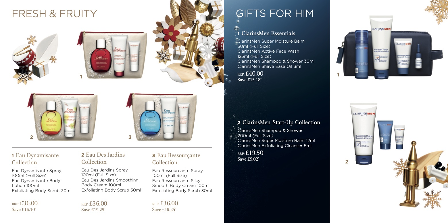 Clarins Christmas Wish List Brochure 2019 Page 6