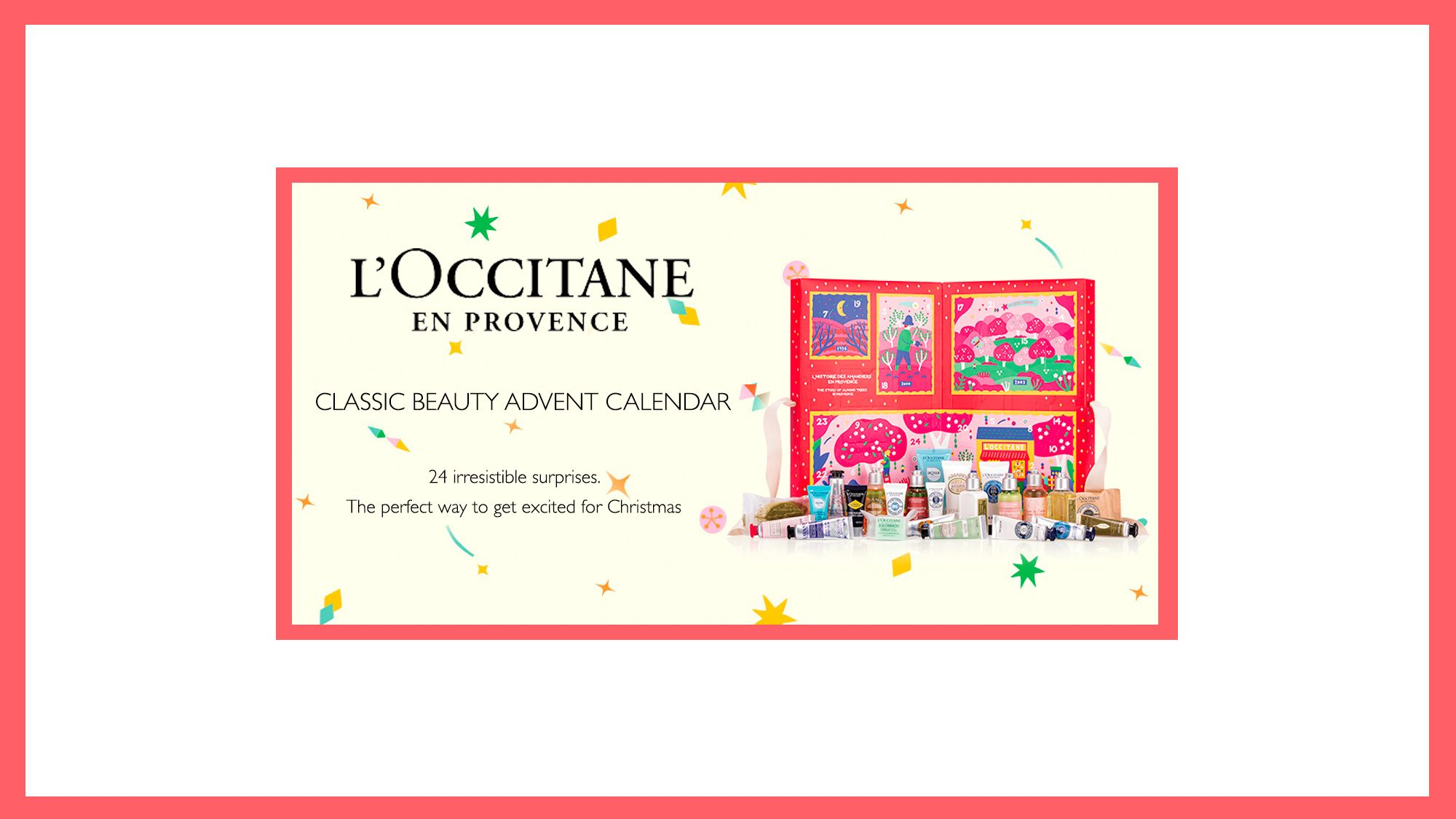L'Occitane - Classic Beauty Advent Calendar