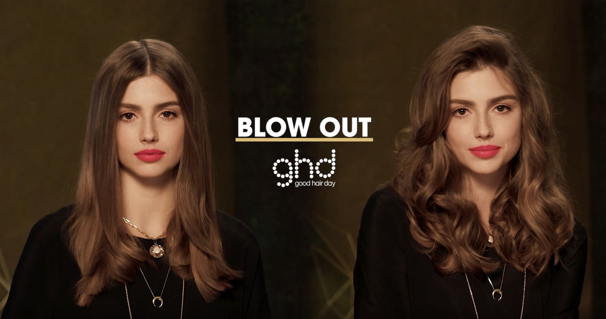 ghd Oracle Curler Before After Blow Out Faux-Blow Model 2019