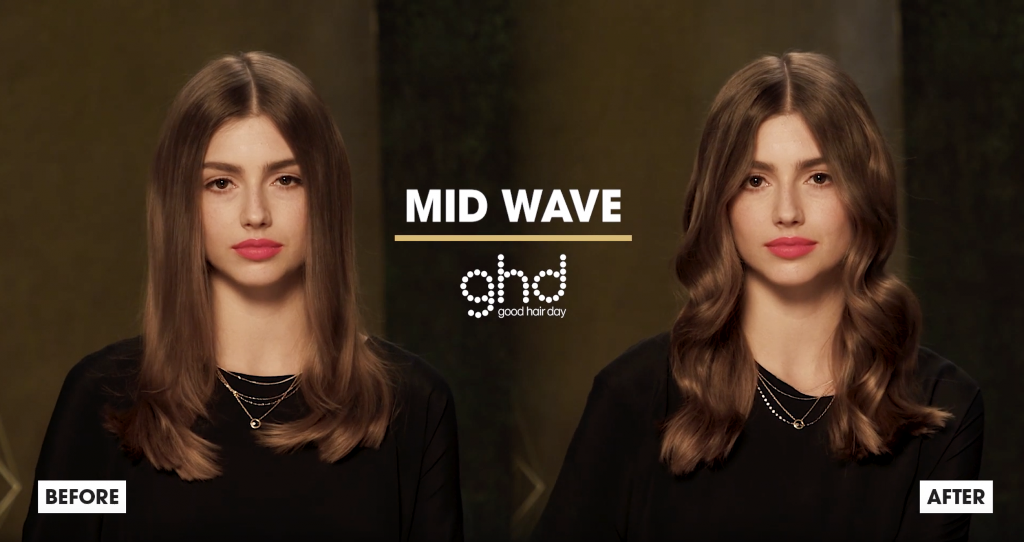 ghd Oracle Curler Before After Mid Mave Model 2019