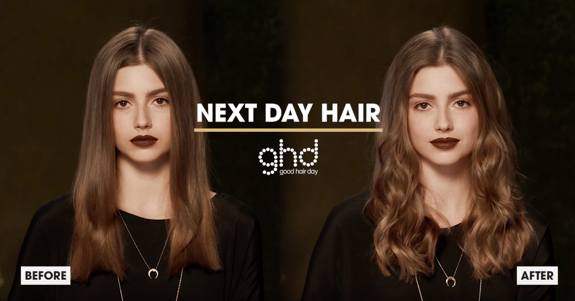 ghd Oracle Curler Before After Next Day Waves Model 2019
