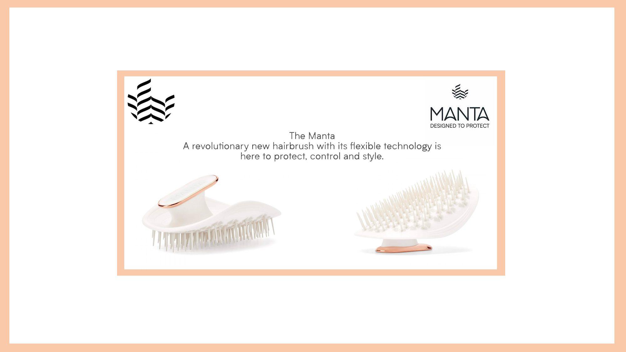 Manta Brush by Manta Rose Gold Banner 2019