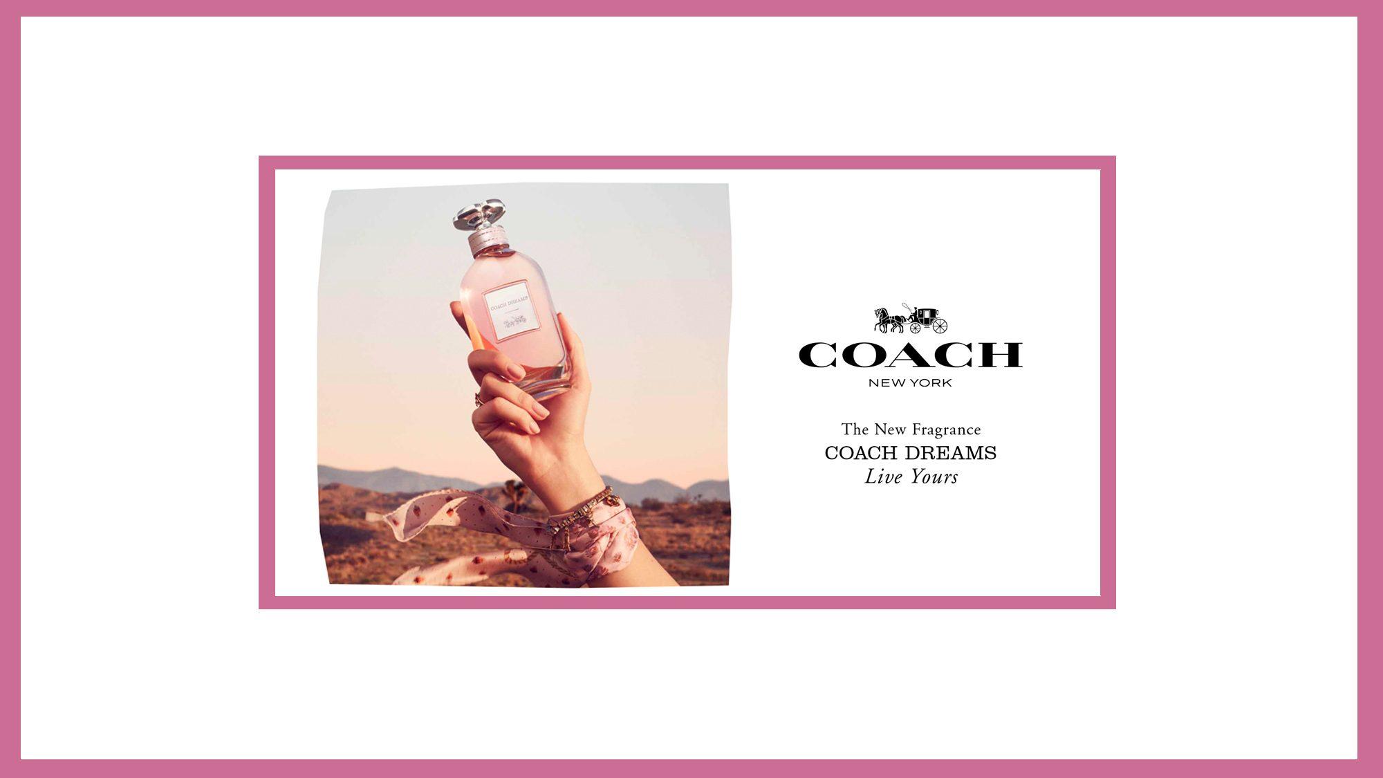 New Coach Dream Fragrance